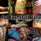 20 Sexy And Cool Thigh Tattoos For Women