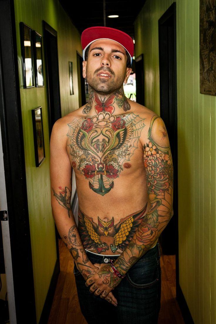 Amazing Owl Tattoo for Men