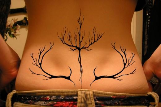 Amazing Tree Tattoo Design