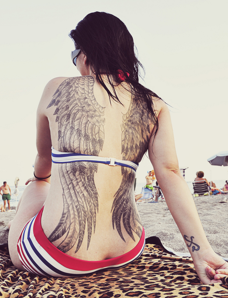 Angel Wings Tattoos for Women