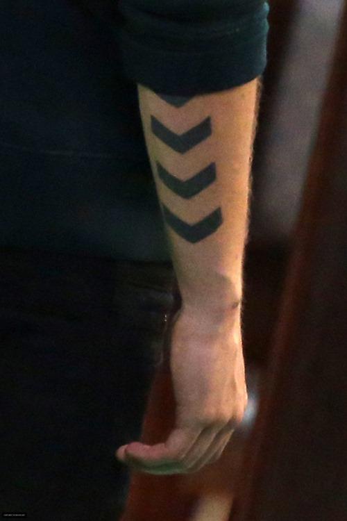 Arrow Tattoo on Arm for Men