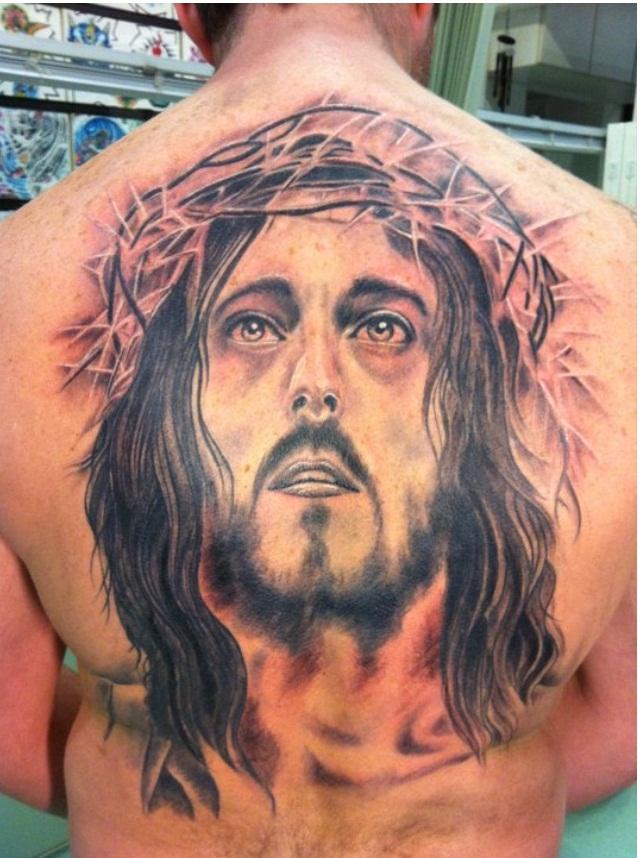 Best Jesus Tattoo for Men