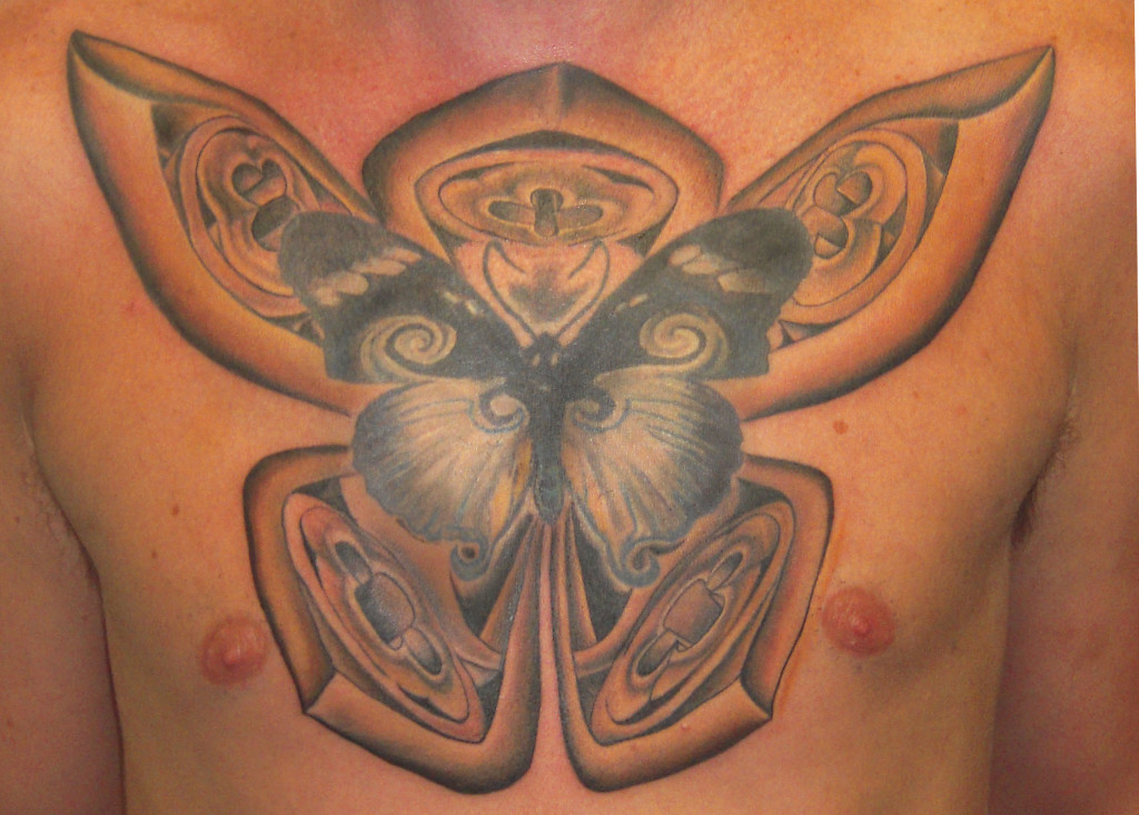 Butterfly Tattoo Designs for Boys4