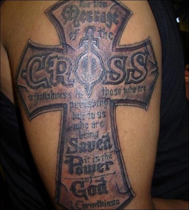 Cross Tattoo Designs (20)