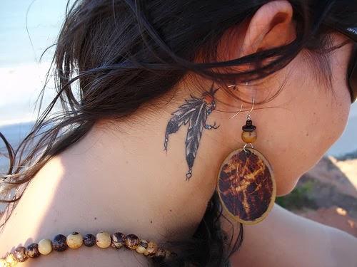 Ear Tattoos 36