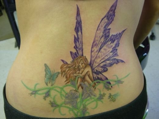 Fairy Tattoo Design for Women