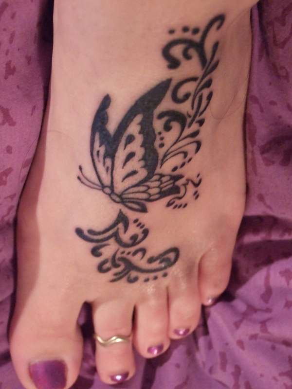 Foot Tattoo Design