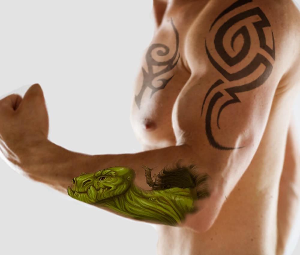 Forearm Tattoos for Men
