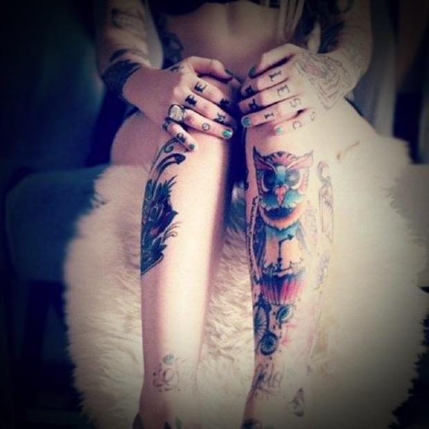 Sexy Leg Tattoo Designs for Women (18)