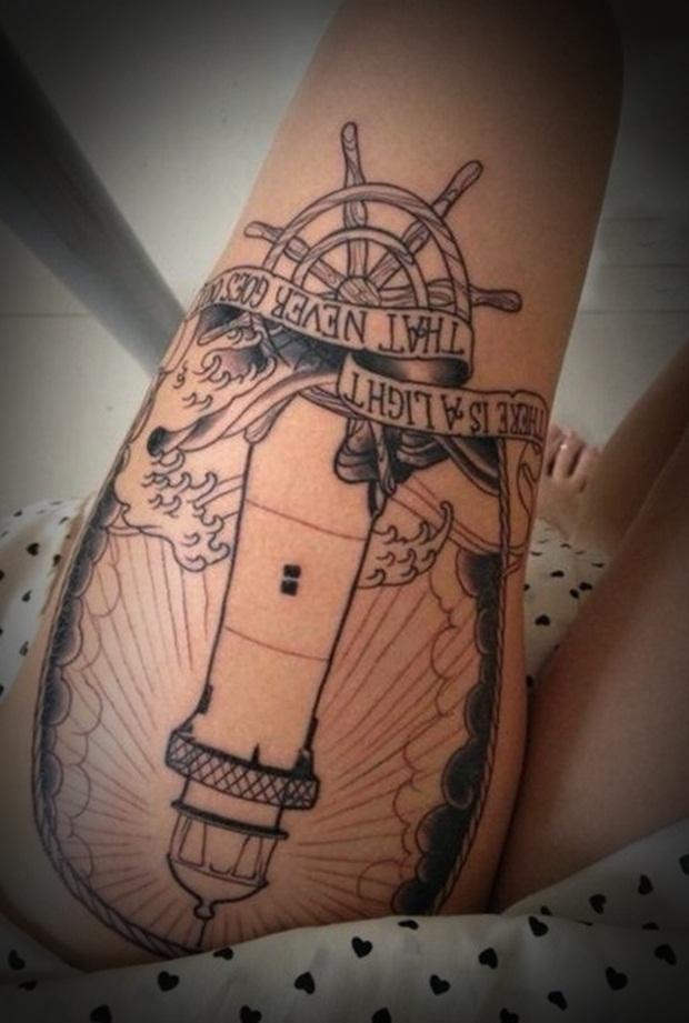 Sexy Leg Tattoo Designs for Women (27)