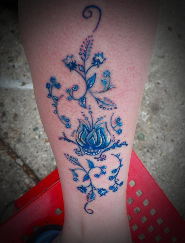 Sexy Leg Tattoo Designs for Women (3)