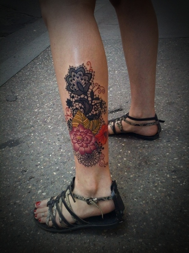 Tags: Leg tattoo Designs , Sexy Leg tattoo , Sexy Leg tattoo Designs