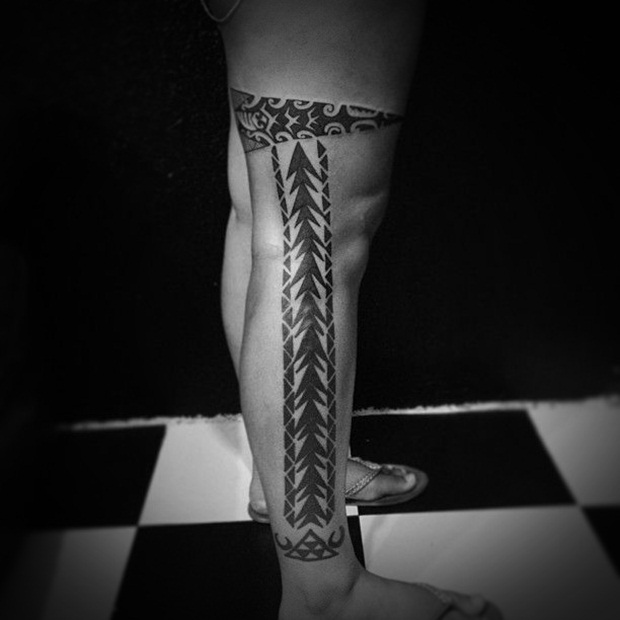 Sexy Leg Tattoo Designs for Women (34)