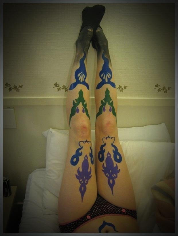 Sexy Leg Tattoo Designs for Women (35)