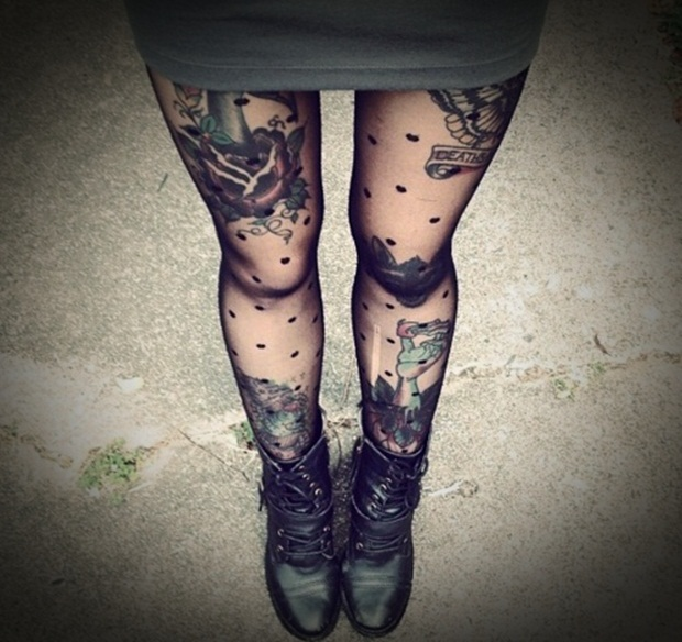 Sexy Leg Tattoo Designs for Women (7)