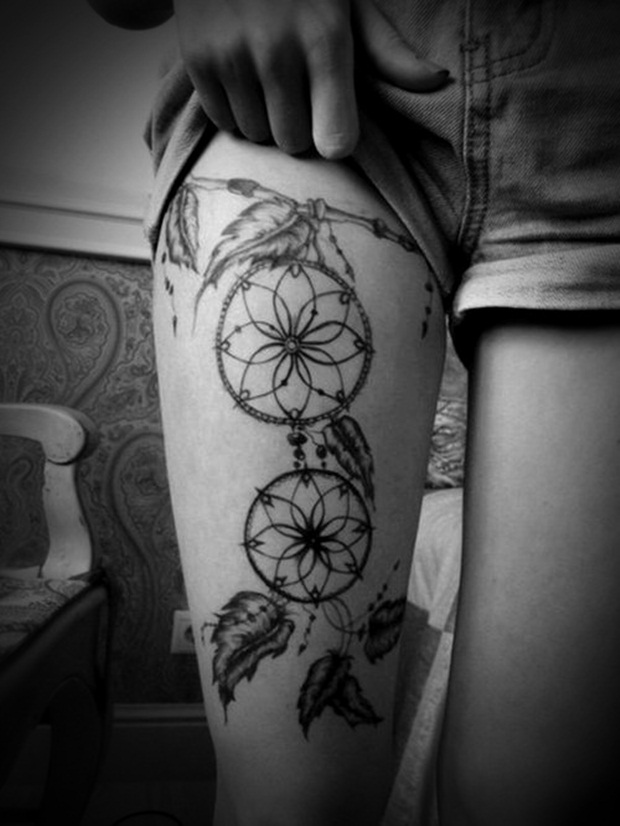 Sexy Leg Tattoo Designs for Women (9)