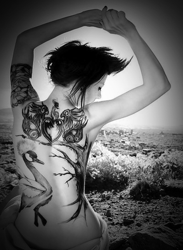 Sexy Lower Back Tattoos for Women (13)