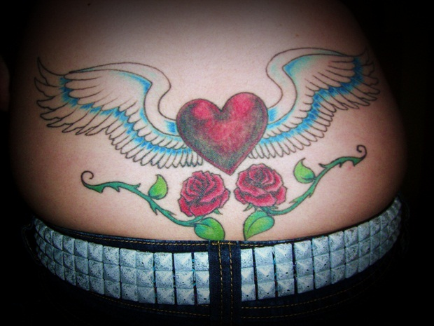 Sexy Lower Back Tattoos for Women (4)