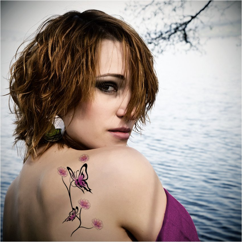 Shoulder Tattoo For Women