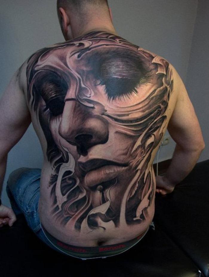 Back Tattoo Ideas For Men