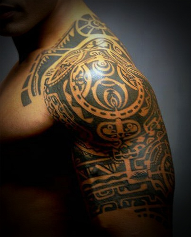 Tribal Tattoos for Men and Women (12)
