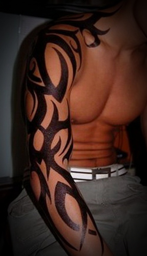 Tribal Tattoos for Men and Women (16)
