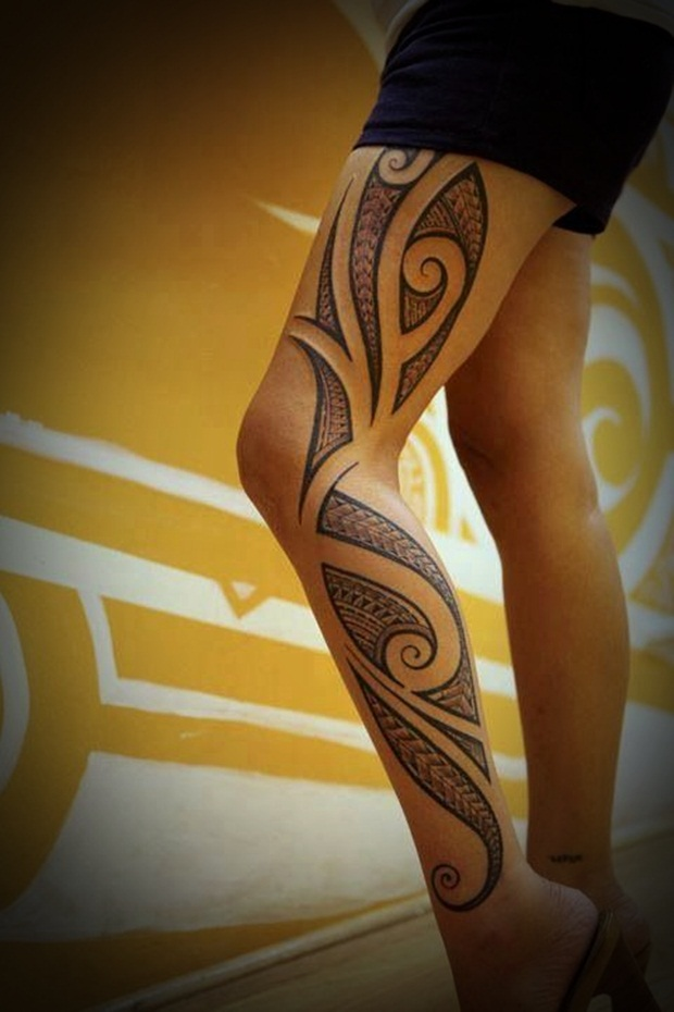 Tribal Tattoos for Men and Women (28)