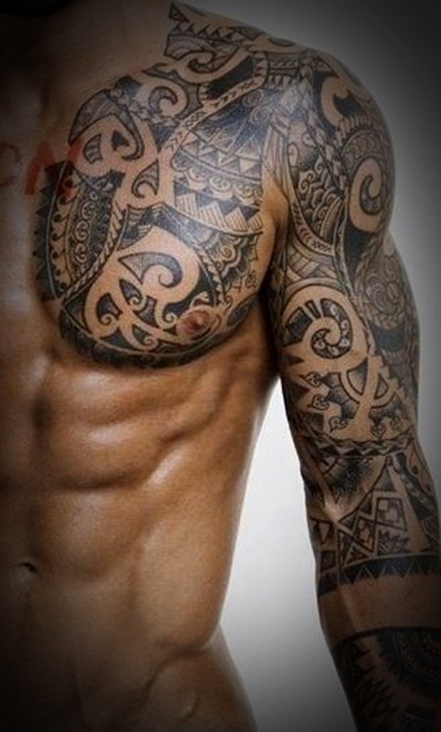 Tribal Tattoos for Men and Women (33)
