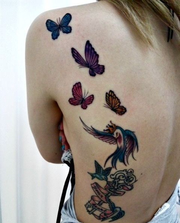 fc9cec69a 40 Amazing Butterfly Tattoo Designs for Boys and Girls