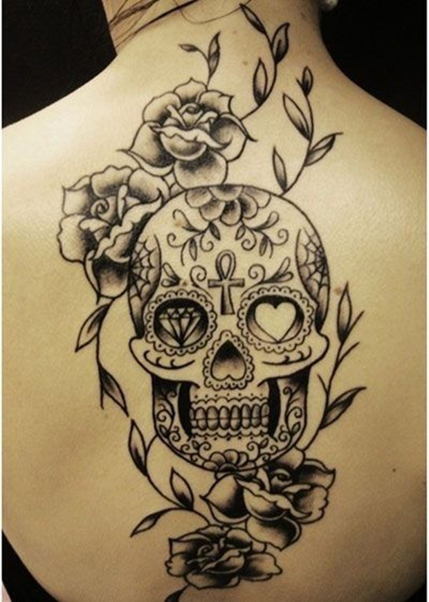 Skull Sleeve Tattoos For Women