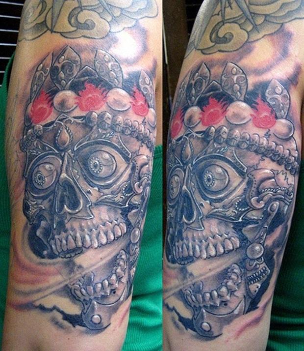 skull tattoos (5)