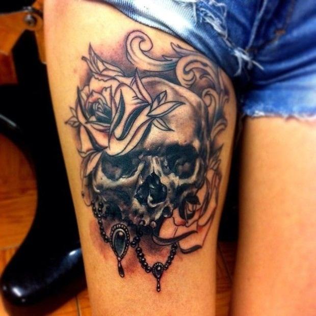 skull tattoos (8)