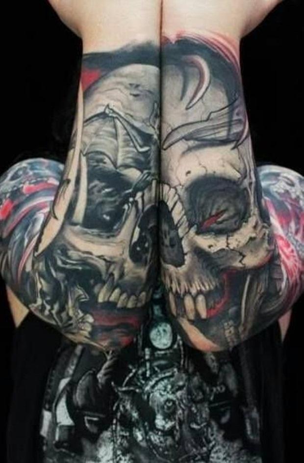 skull tattoos (9)