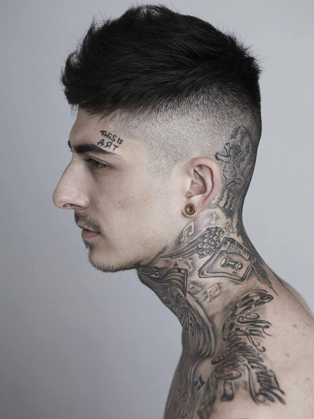75 best tattoos for men back tattoo ideas for men for Tattoo under hairline