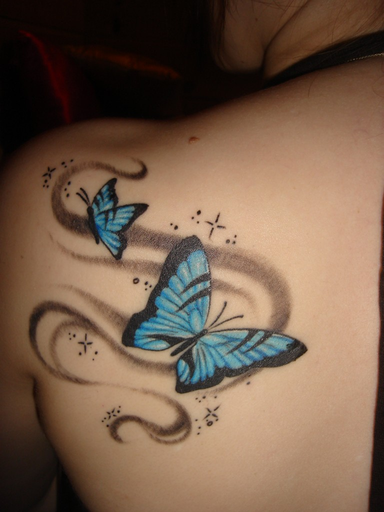 Shoulder Tattoo Designs for Girls 26