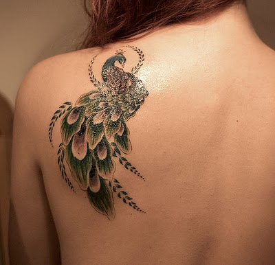 Shoulder Tattoo Designs for Girls 29