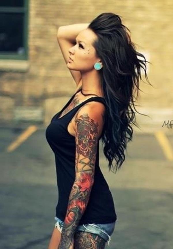 Cool Shoulder Arm Tattoos For Girls Best Tattoo Ideas