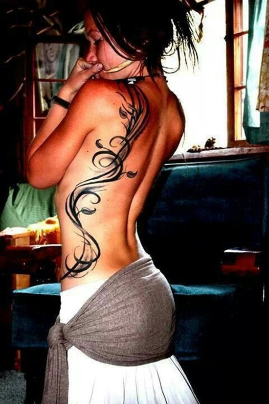 back waist tattoos (19)