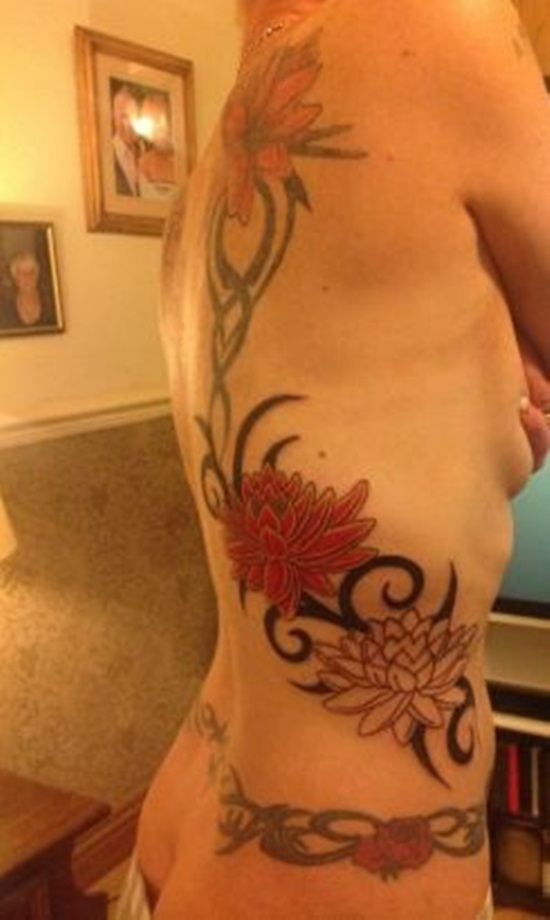 back waist tattoos (25)
