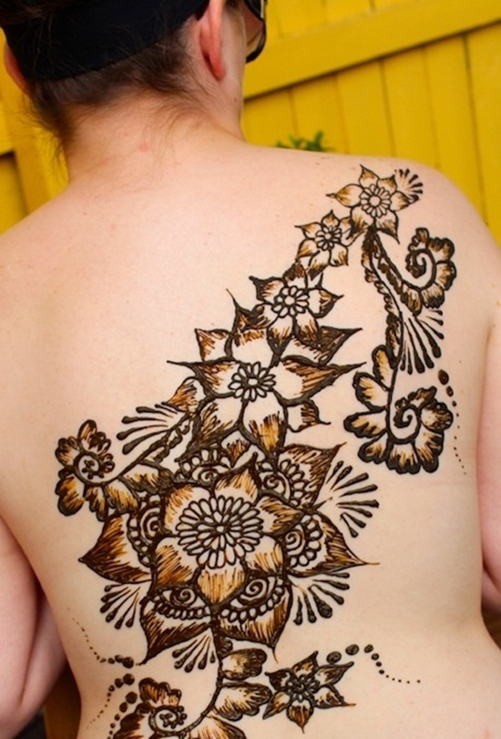 back waist tattoos (35)