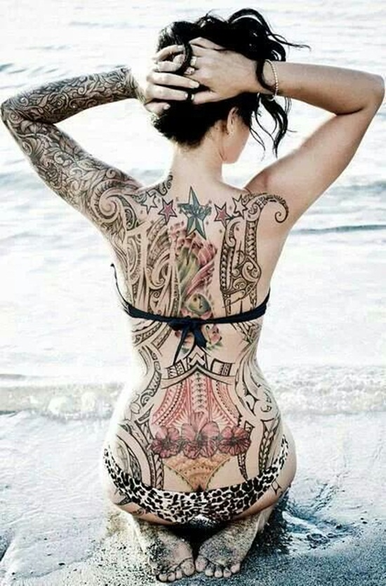 back waist tattoos (5)