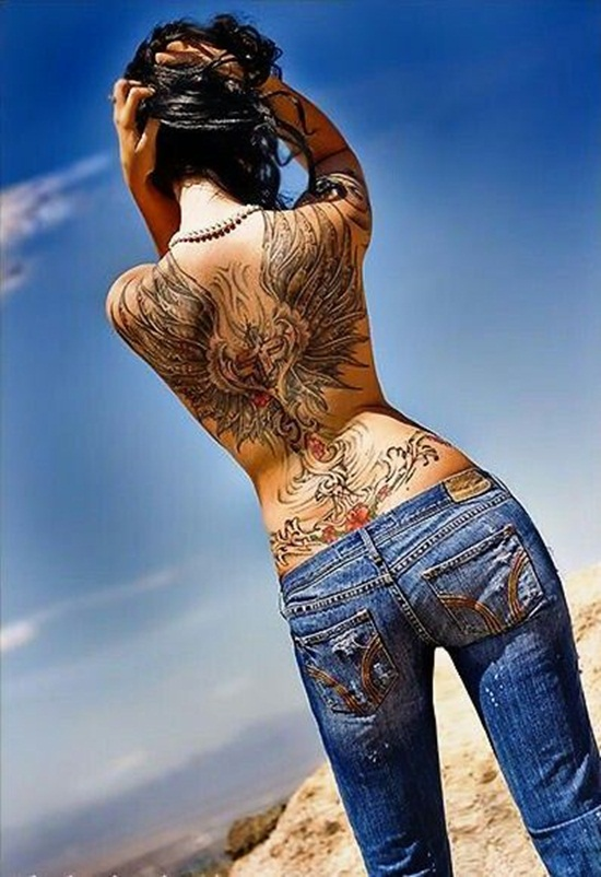 back waist tattoos (7)