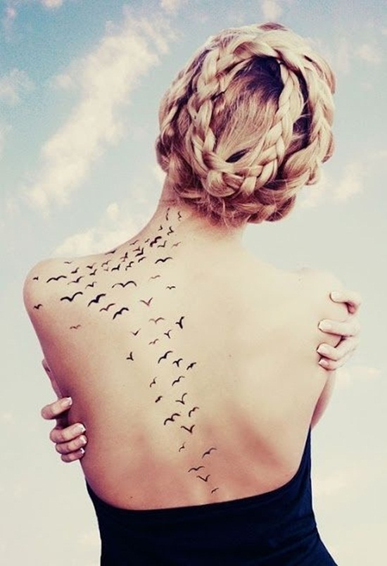 back waist tattoos (9)