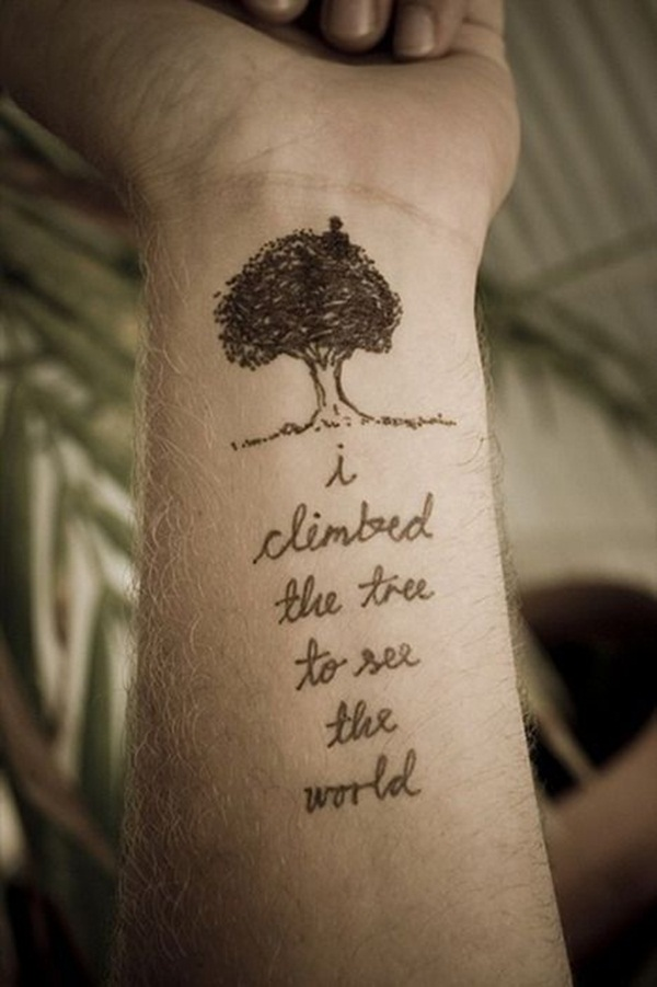 Finally here we have collected the list of 30 best tree tattoo ideas
