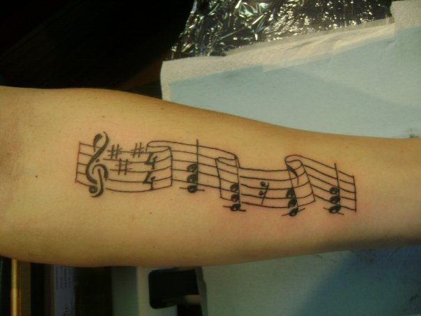 Best Music Tattoo Designs and Ideas