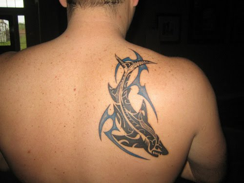 Fish Tribal Tattoo