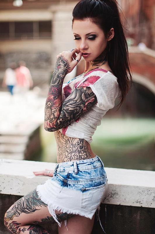 Full Body Tattoos for girls