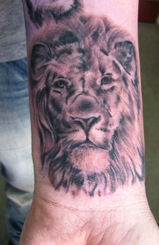 Lion Tattoo Drawings