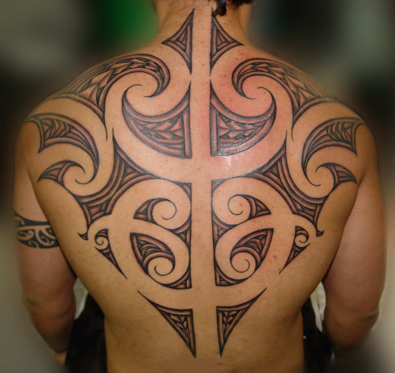 Tribal-Tattoos Maori-Tribal-Tattoo-Designs-for-Men