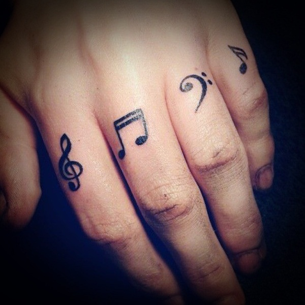Tattoo Designs Related To Music: 40 Best Music Tattoos
